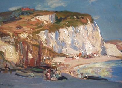 Calton Gallery - Beer beach, Devon  by Alexander Jamieson IS